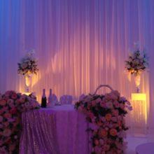 Световое оформление свадьбы 00105